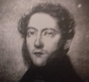 This picture of Miles Marley was painted by count Paul Wonjersky who is believed to be from the Polish Royal family. It is said to have been in return for medical treatment.
