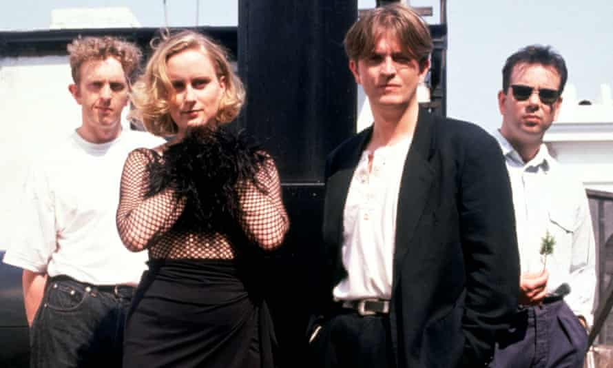 'I dreamed of changing the course of pop music' … Prefab Sprout with McAloon, second right.