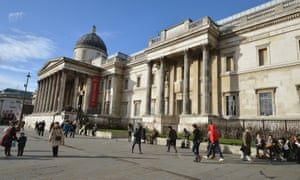 National Gallery staff have staged a series of walkouts in recent months.