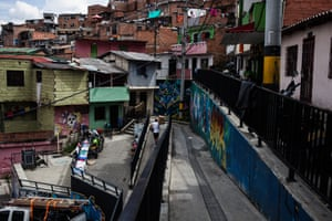 Comuna 13 and the city as a whole still face problems, but residents believe the situation is improving