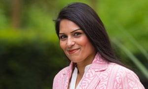 The employment minister, Priti Patel.