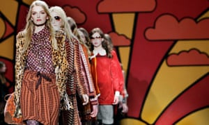 ANNA SUI FASHION SHOW IN NEW YORK CITY