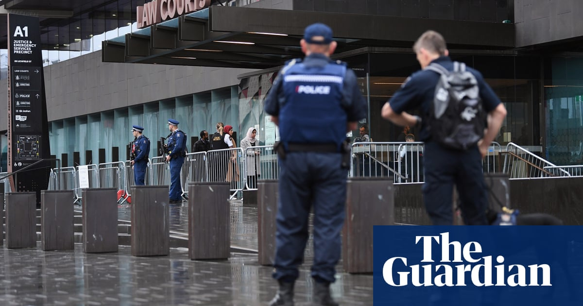 High security in Christchurch as mosque gunman faces sentencing – The Guardian