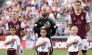 Tim Howard has joined a Rapids team flying high in the West