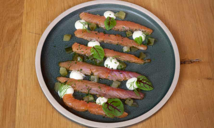 'There are brilliant orange ribbons of dried trout, with proper bite and flavour': cured trout.