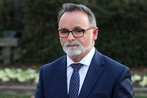 Tasmania's opposition leader David O'Byrne has stood down pending a Labor party investigation.