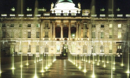 Somerset House, in the Strand, London.