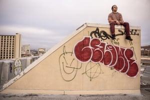 Mario Koran in Oakland.