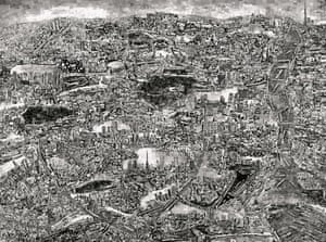 Diorama Map by Sohei Nishino Nishino creates immense, collaged maps built from places he has documented.