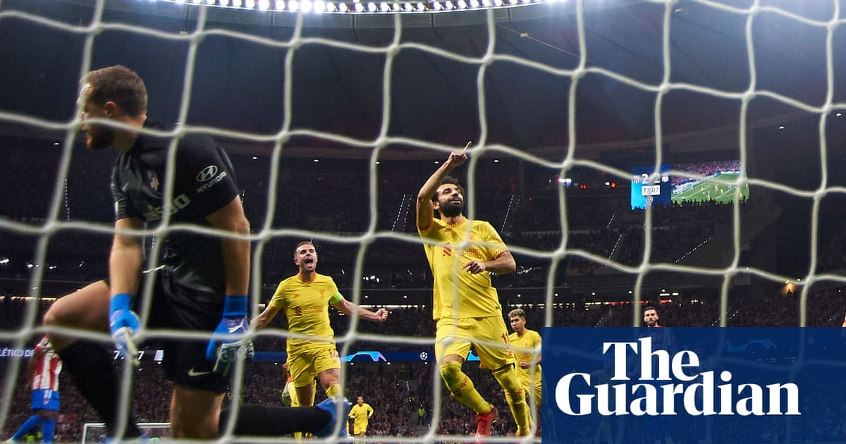 Salah and Liverpool douse Atlético Madrid fire after Griezmann sees red