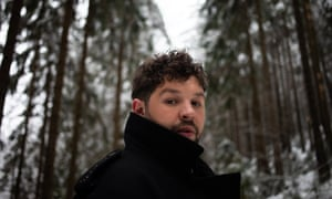 James Newman, the UK's 2020 Eurovision entry. Photograph: Victor Frankowski