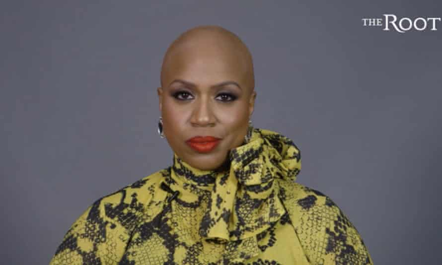 Ayanna Pressley unveils her bald look. She told the Root: 'It's accelerated very quickly.'