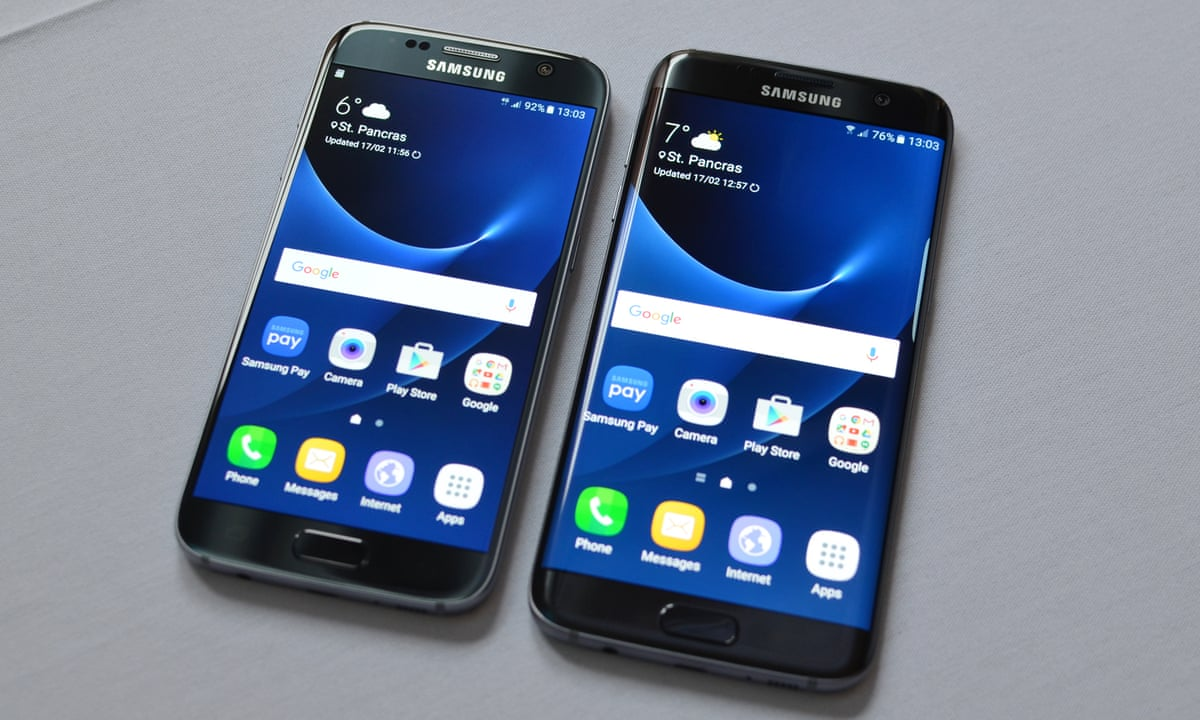 samsung galaxy s7 and s7 edge waterproof flagship smartphones launched at mwc technology the. Black Bedroom Furniture Sets. Home Design Ideas