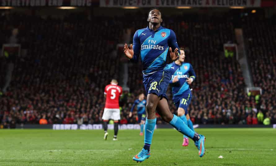 Danny Welbeck scored the winner the last time Arsenal faced Manchester United in the FA Cup in 2015.