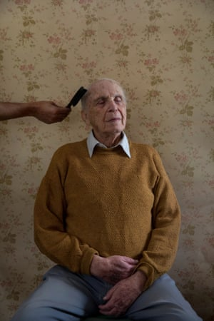 Transparent Curtains: Aging through the Eyes of Gay Elders by Oded Wagenstein. 1st place winner, series