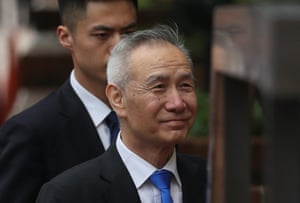 China's Vice Premier Liu He arrives trade talks at the U.S. Trade Rpresentative's Office in WashingtonChina's Vice Premier Liu He arrives outside the office of the U.S. Trade Representative for a second day of last ditch trade talks in Washington, U.S., May 10, 2019. REUTERS/Leah Millis