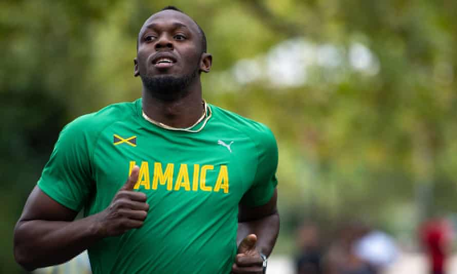 Usain Bolt: 'Even in high school I was famous. Everyone knew who I was in Jamaica'.