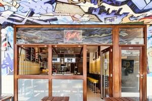 Biggie Smalls Kebabs, a hip-hop flavoured kebab shop in Australia.