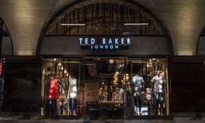 A Ted Baker store at London Bridge station.