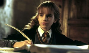 Emma Watson as Hermione in Harry Potter and the Chamber of Secrets.