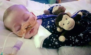 Charlie Gard has a rare genetic condition.