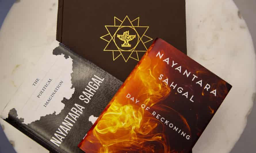 Books by Nayantara Sahgal.