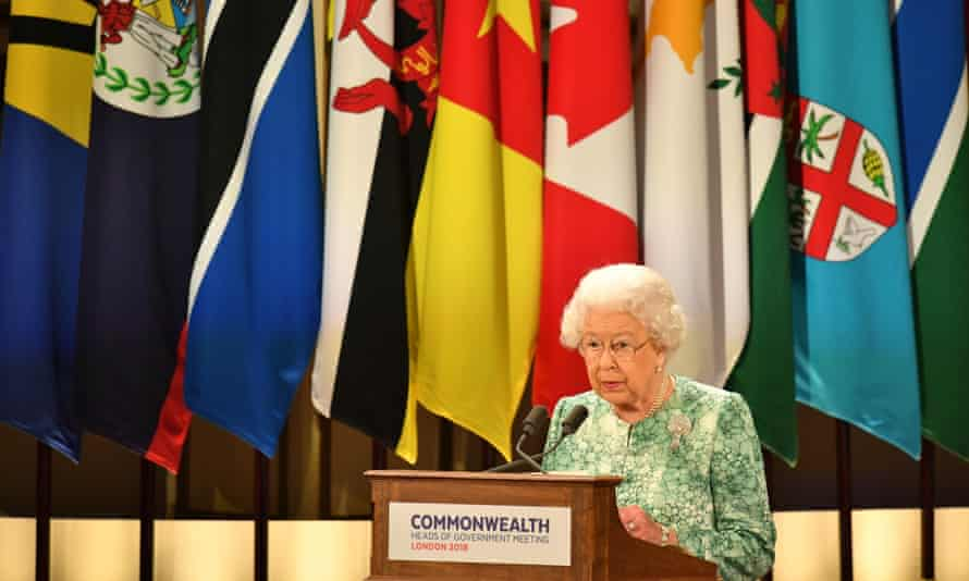 The Queen speaks at the opening of the Commonwealth heads of government meeting