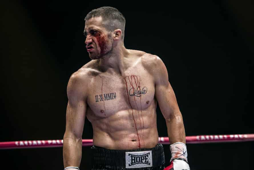 Gyllenhaal in Southpaw.