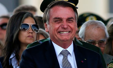 Bolsonaro enjoys comedy club outing as Brazil's wildfire crisis rages on