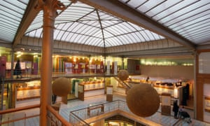 Interior of the Belgian Comic Strip Center, Brussels