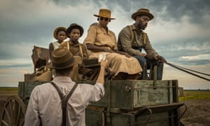 Mary J Blige and Rob Morgan in a scene from Mudbound