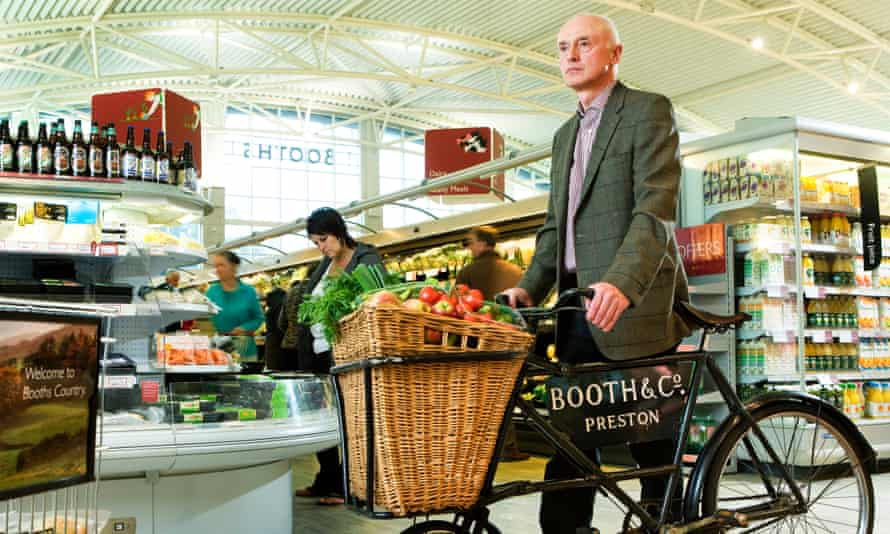 Edwin Booth is executive chairman and chief executive of Booths