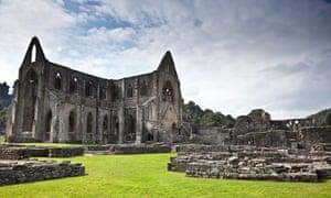 Tintern Abbey in Wales.