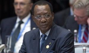Chad's president, Idriss Déby