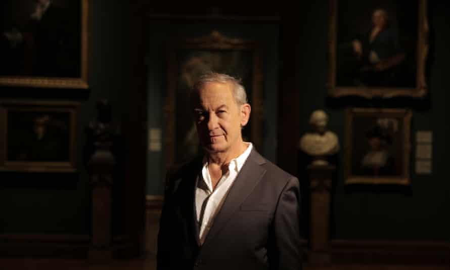Simon Schama, one of the presenters of Civilisations.
