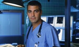 George Clooney as ER heartthrob Doug Ross.