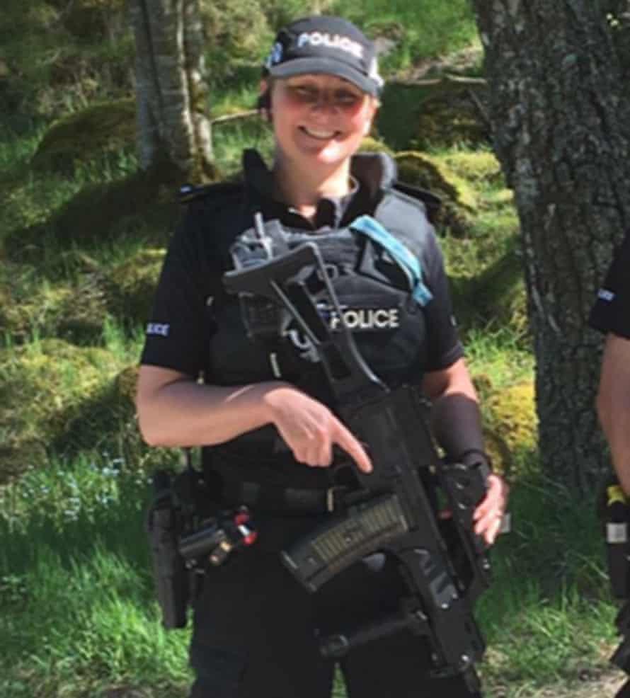 Firearms officer Rhona Malone