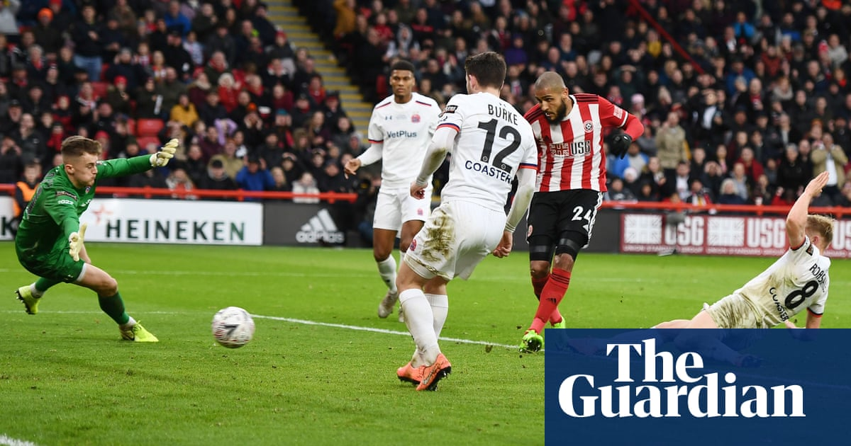 Sheffield United hold on for nervy FA Cup win over non-league AFC Fylde