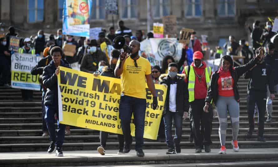 Birmingham Black Lives Matter rally