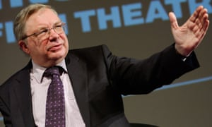 Michael Billington at an onstage event at the National Film Theatre in London.