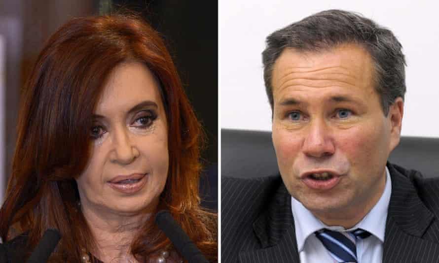 Cristina Fernández de Kirchner and Alberto Nisman