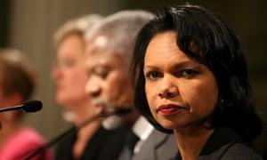 Condoleezza Rice Colin Powell Hillary Clinton email