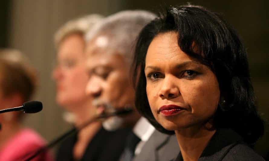 Condoleezza Rice Colin Powell Hillary Clinton email