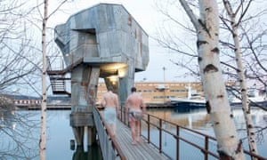 Gothenburg Public Sauna by Raumlabor.
