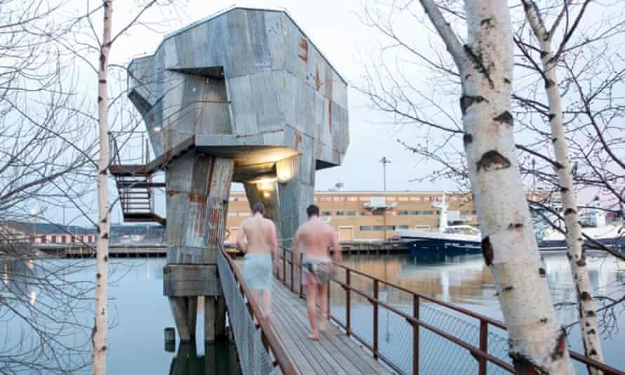 Gothenburg Public Sauna by Raumlabor.
