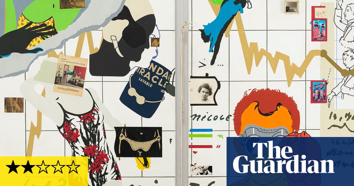 Hervé Télémaque review – 'His work is just waiting for some pretentious fool to decode it'