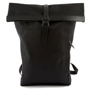 Cycling bag, £327, Nanamica goodhoodstore.com