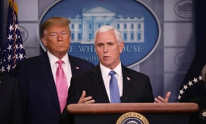 'Mike has a certain talent for this': Trump puts his vice president in charge of tackling Covid-19.