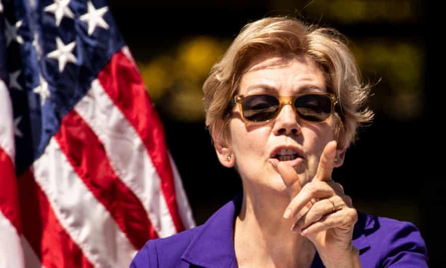 Massachussetts senator Elizabeth Warren