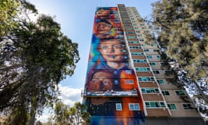 The Collingwood housing estate in inner Melbourne.